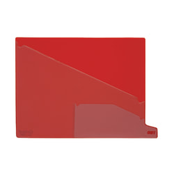 Pendaflex® End-Tab Out Guides, Bottom-Cut Tab, Letter Size, Red, Box Of 25