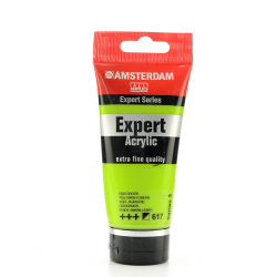 Amsterdam Expert Acrylic Paint Tubes, 75 mL, Yellowish Green, Pack Of 2