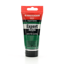 Amsterdam Expert Acrylic Paint Tubes, 75 mL, Permanent Green Deep, Pack Of 2