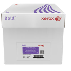 "Xerox® Bold Digital™ Super Gloss Cover, Ledger Size (11"" x 17""), 92 (U.S.) Brightness, 12 Pt (247 gsm), FSC® Certified, 200 Sheets Per Ream, Case Of 4 Reams"