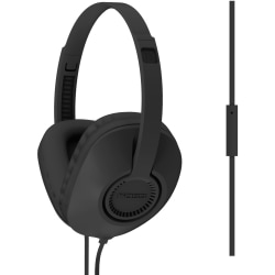 Koss UR23i Headset - Stereo - Mini-phone (3.5mm) - Wired - 34 Ohm - 20 Hz - 20 kHz - Over-the-head - Binaural - Circumaural - 3.94 ft Cable - Black