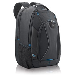 Solo Tech Laptop Backpack, Black/Blue