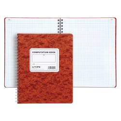 "TOPS™ Computation Notebook, 9 1/2"" x 11 3/4"", Quad Ruled, 76 Sheets"