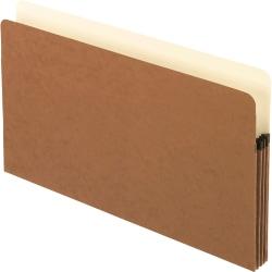 "Pendaflex® Smart Shield™ File Pockets, Legal Size, Redrope, 3 1/2"" Expansion"
