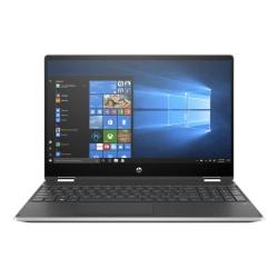 """HP Pavilion x360 15-dq1025od Convertible Laptop, 15.6"""" Touch Screen, Intel® Core™ i5, 8GB Memory, 256GB Solid State Drive, Windows® 10, 9ZG22UA#ABA"""