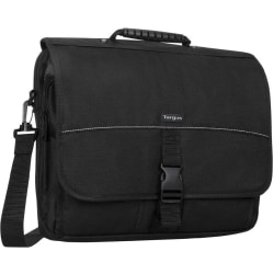 "Targus® Messenger Notebook Case With 15.6"" Laptop Pocket, Black"