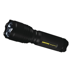 Rayovac RoughNeck LED 3 AAA-Cell Tactical Flashlight, Black