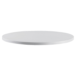 Safco® RSVP Table Top, Round, Gray