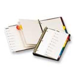 Cardinal® OneStep® Index System, 1-8 Tab, Clear