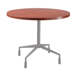 "Safco® RSVP Table Top, Round, 42""W, Cherry"