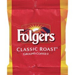Folgers® Classic Roast Coffee, 1.5 Oz, Box Of 42 Packets