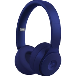 Beats by Dr. Dre Solo Pro Wireless Headphones - Stereo - Wireless - Bluetooth - Over-the-head - Binaural - Circumaural - Noise Canceling - Dark Blue