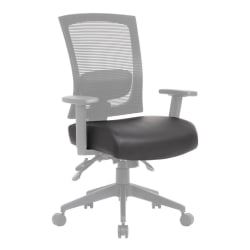 Boss Office Products Seat Cover With Antimicrobial Protection, Black