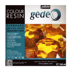 Pebeo Gedeo Color Resin, Topaz, 750 Ml