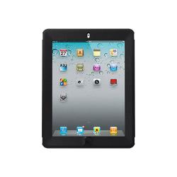 OtterBox iPad 2/3/4 Defender Series Pro Pack Rugged Daily Defense - For iPad 2, iPad 3, iPad 4 - Black - Drop Resistant, Bump Resistant, Scuff Resistant, Scratch Resistant, Scrape Resistant, Dirt Resistant, Dust Resistant, Lint Resistant, Wear Resistant