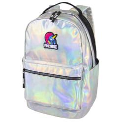 "Fortnite Stamped Backpack With 18"" Laptop Pocket, Iridescent"