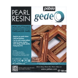 Pebeo Gedeo Pearl Resins, Vermeil, 150 Ml