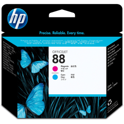 HP 88 (C9382A) Cyan and Magenta Print Head
