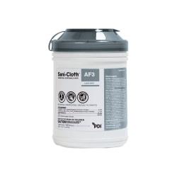 Nice-Pak Sani-Cloth AF3 Germicidal Wipes - Wipe - 160 / Can - 12 / Carton - White