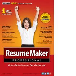 ResumeMaker Professional Deluxe 20, Download