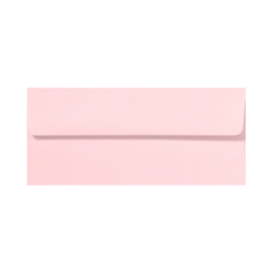 "LUX Envelopes With Peel & Press Closure, #10, 4 1/8"" x 9 1/2"", Candy Pink, Pack Of 500"