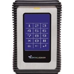 DataLocker DL3 500GB External Hard Drive, 8MB Cache, USB 3.0, Black/Blue/Silver