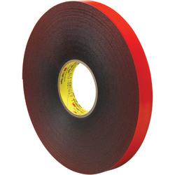 "3M™ VHB™ 4611 Tape, 1.5"" Core, 1"" x 5 Yd., Gray/Red"