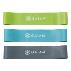 Gaiam Restore Mini Resistance Band Kit, Multicolor