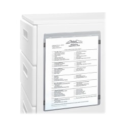 """C-Line® Magnetic Shop Ticket Holders, 9"""" x 12"""", Clear, Box Of 15"""