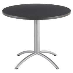 "Iceberg CafeWorks Cafe Table, Round, 30"" x 36""W, Graphite"