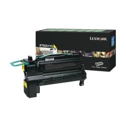 Lexmark™ X792X1YG Return Program Extra-High-Yield Yellow Toner Cartridge