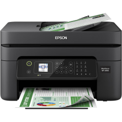 Epson® WorkForce® WF-2830 Wireless InkJet All-In-One Color Printer