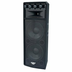 Pyle Pro PADH212 800W RMS 7-Way Indoor/Outdoor Floor Standing Speaker, Black