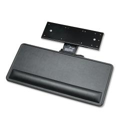 "Ergonomic Concepts Economy Keyboard/Mouse Platform - 0.8"" Height x 27"" Width x 13"" Depth - Black"