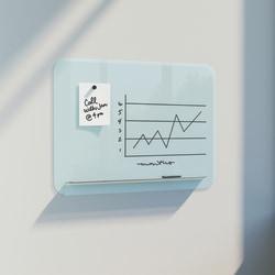 "U Brands Magnetic Dry-Erase Whiteboard, 24"" x 18"", White"