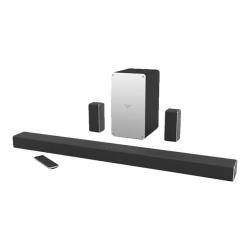 VIZIO SmartCast SB3651-E6 5.1 Bluetooth Speaker System - Tabletop, Wall Mountable - 50 Hz to 20 kHz - DTS Digital Surround, Dolby Digital, DTS TruSurround, DTS TruVolume, DTS Studio Sound, DTS - Wireless LAN - USB