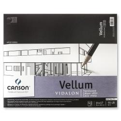 "Canson Vidalon Tracing Vellum Pad, 14"" x 17"", Pack Of 50 Sheets"