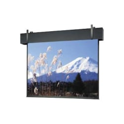Da-Lite Professional Electrol - Projection screen - ceiling mountable, wall mountable - motorized - 1:1 - Matte White