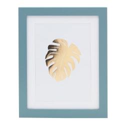 """Office Depot® Brand Gold Leaf Framed Artwork, 9-3/16"""" x 11-1/4"""""""