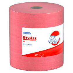 """Wypall X80 Jumbo Wipes, 12 1/2"""" x 13 1/2"""", 475 Per Roll"""