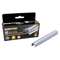 "Bostitch® B8® PowerCrown™ Premium Staples, 3/8"" Size, Box Of 5,000"
