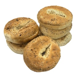 National Brand Fresh Everything Bagels, Pack Of 6