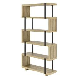 Ameriwood™ Home Ryker 5-Shelf Bookcase, Brown Oak