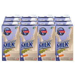 Gossner Foods 2% Reduced Fat Shelf Stable Milk, 32 Oz, Pack Of 12 Cartons
