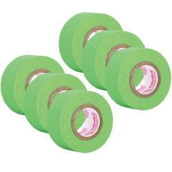 "Mavalus® Tape, 1"" x 324"", Green, Pack Of 6"