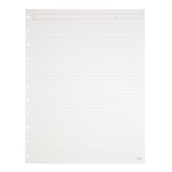 TUL® Discbound Notebook Refill Pages, Letter Size, Narrow Ruled, 600 Pages (300 Sheets), White