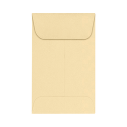 "LUX Coin Envelopes, #1, 2 1/4"" x 3 1/2"", Nude, Pack Of 250"