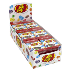 Jelly Belly Jelly Beans, 1.2 Oz, Assorted Flavors, Box Of 24 Packs