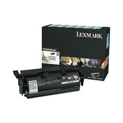 Lexmark™ T65x (T650H04A) Return Program High-Yield Black Toner Cartridge For Label Applications