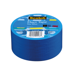 "Scotch® Colored Duct Tape, 1 7/8"" x 20 Yd., Blue"